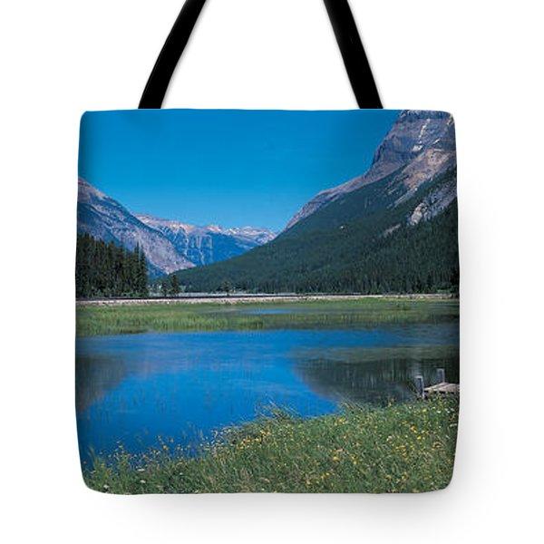 Golden British Columbia Canada Tote Bag