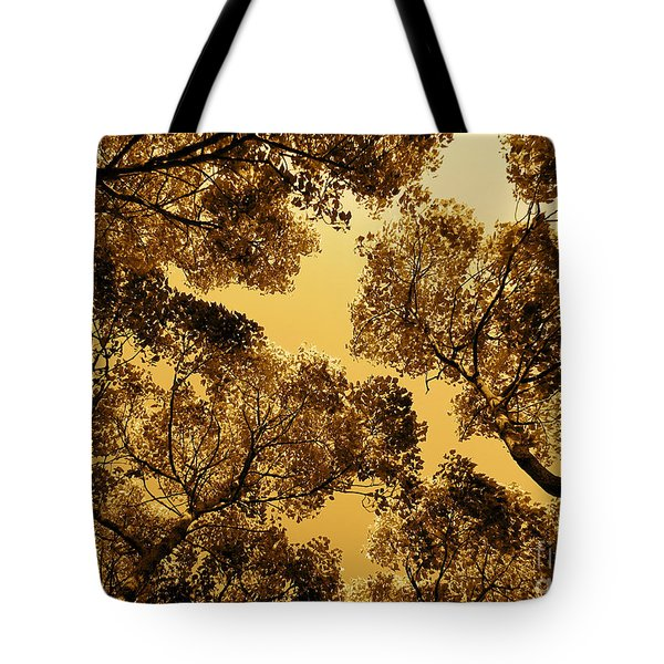 Golden Camphor Tote Bag