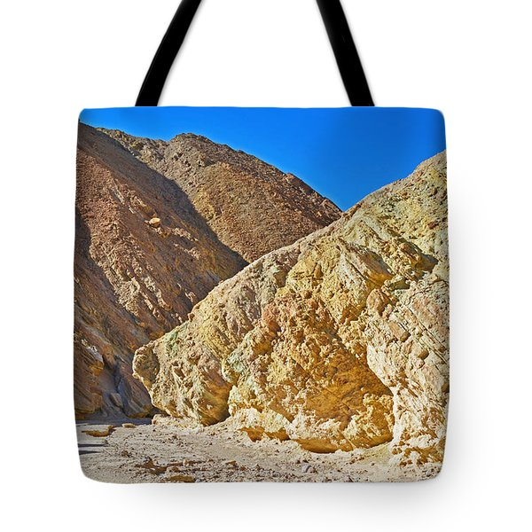 Tote Bag featuring the photograph Golden Canyon - Death Valley by Dana Sohr