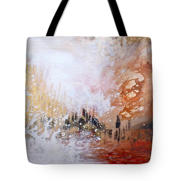 Golden City Tote Bag by Kume Bryant