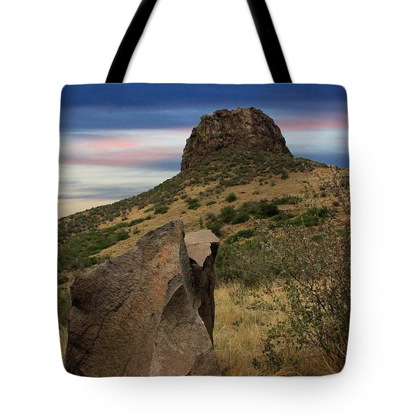 Golden Colorado Sunset  Tote Bag by AR Annahita