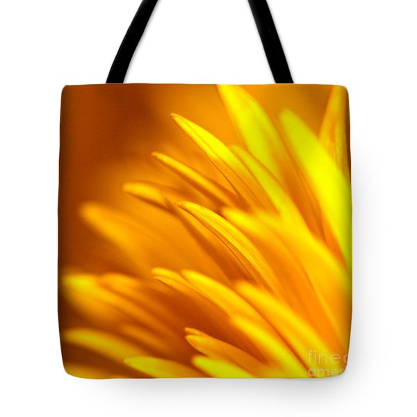 Golden Dahlia Tote Bag