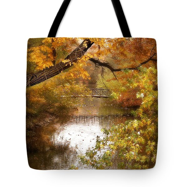 Golden Days Tote Bag by Jessica Jenney