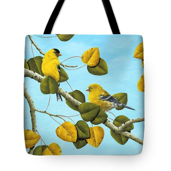 Golden Days Tote Bag