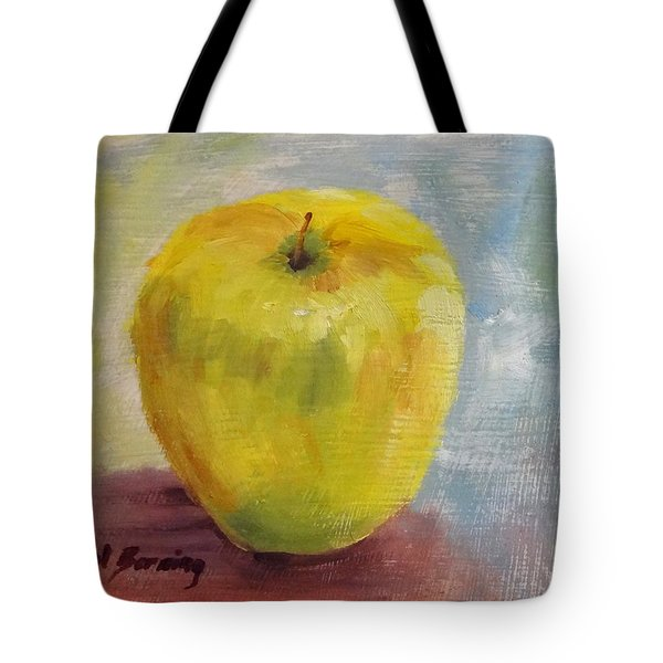 Golden Delicious Tote Bag by Carol Berning