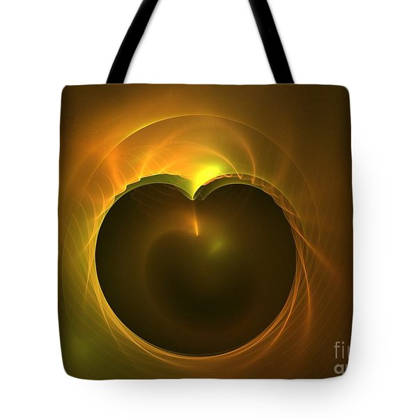 Golden Delicious Tote Bag by Kim Sy Ok
