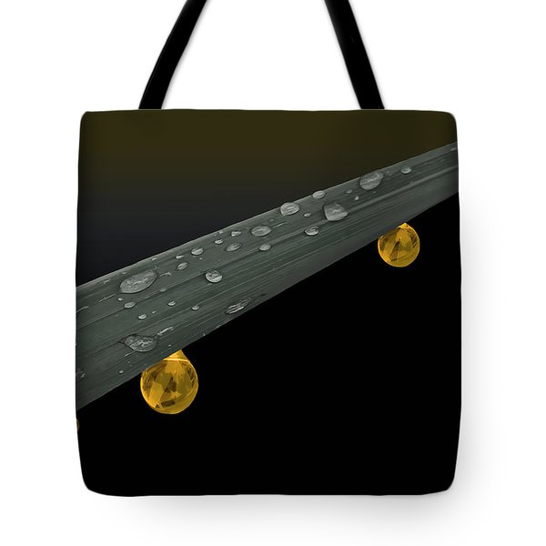 Golden Dew Tote Bag by Angela A Stanton