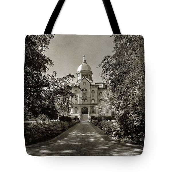 Golden Dome At Notre Dame University Tote Bag