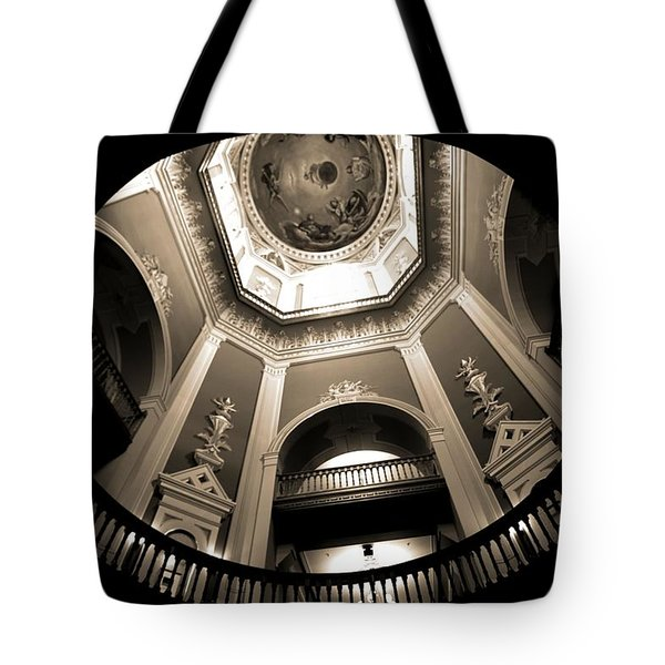 Golden Dome Ceiling Tote Bag by Dan Sproul