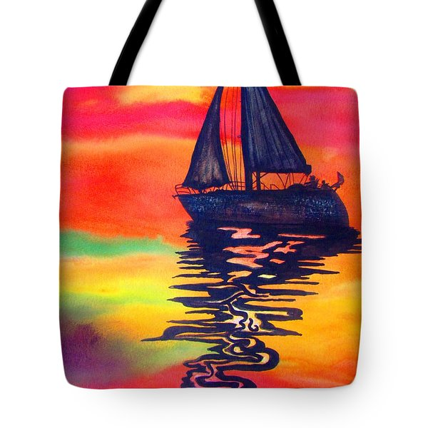 Golden Dreams Tote Bag