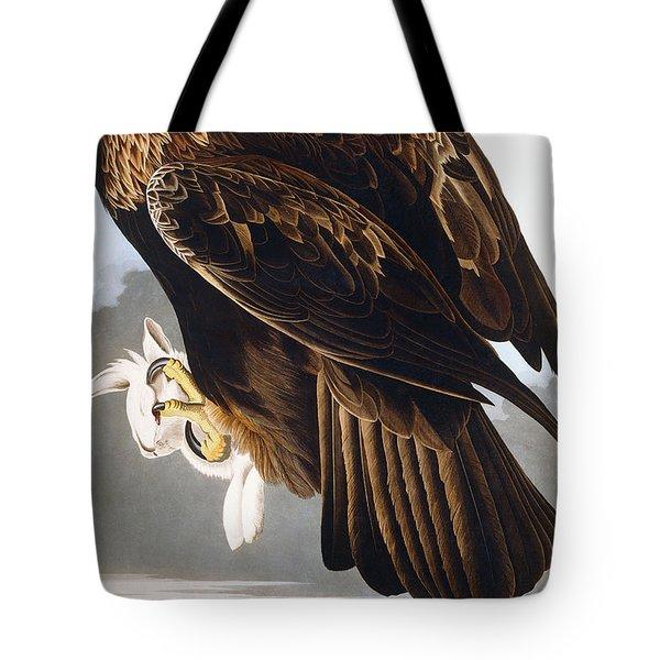 Golden Eagle Tote Bag by John James Audubon