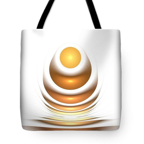 Golden Egg Tote Bag by Anastasiya Malakhova