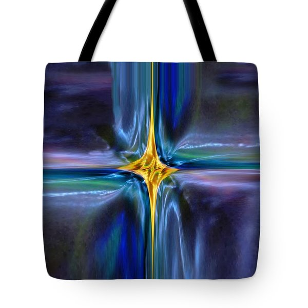 Golden Entity Tote Bag