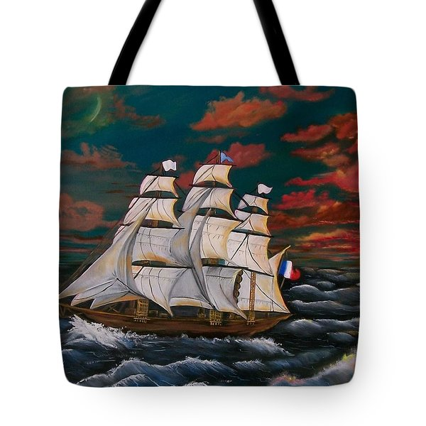 Golden Era Of Sail Tote Bag