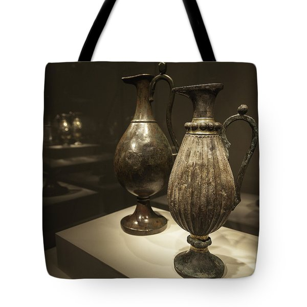 Golden Ewers Tote Bag by Lynn Palmer