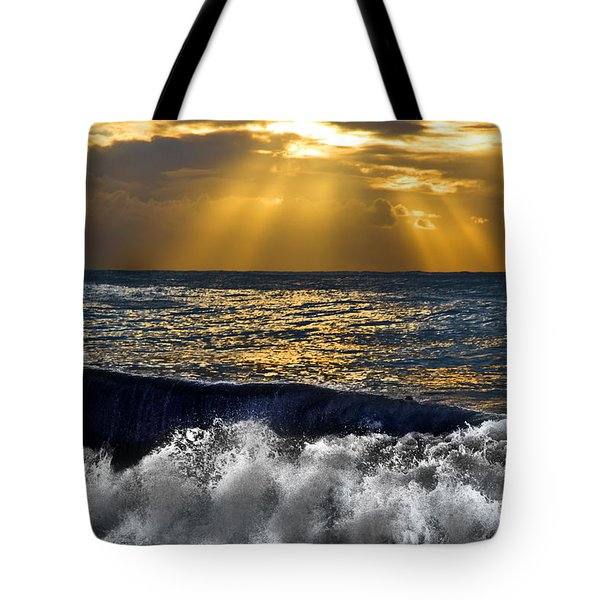 Golden Eye Of The Morning Tote Bag