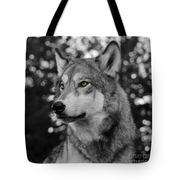 Golden Eyes Tote Bag