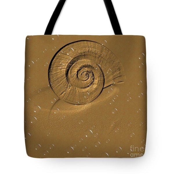 Golden Fantasy. Shell. Abstarct. Beautiful Home Collection 2015 Tote Bag
