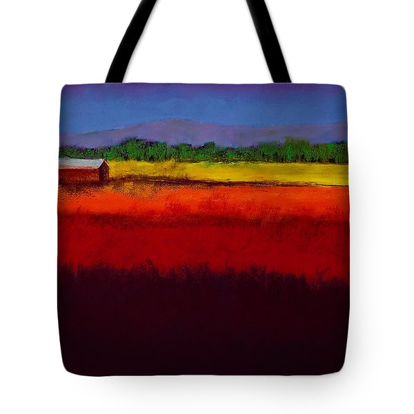 Golden Field Tote Bag by David Patterson