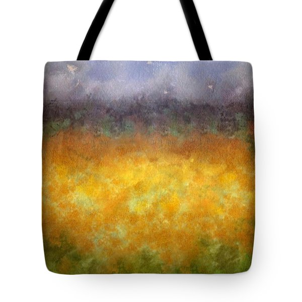 Golden Fields Tote Bag by Darla Wood