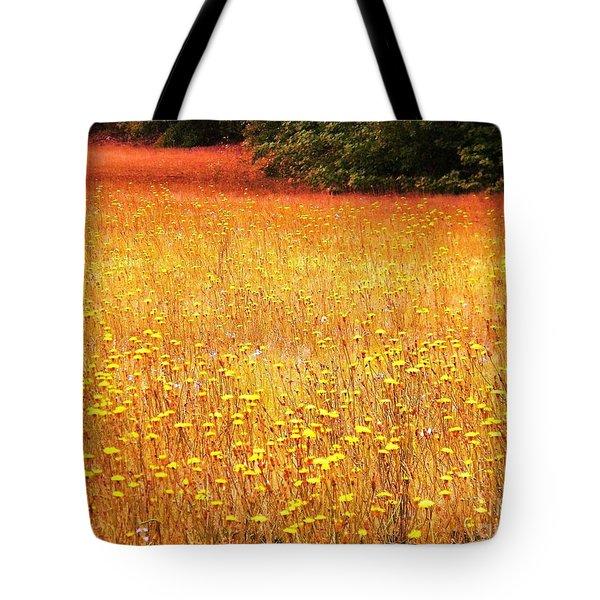 Golden Pastures Tote Bag