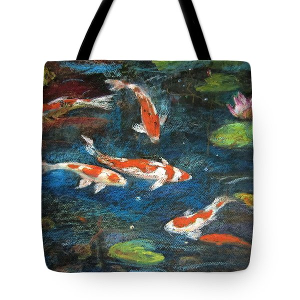 Golden Fish Tote Bag