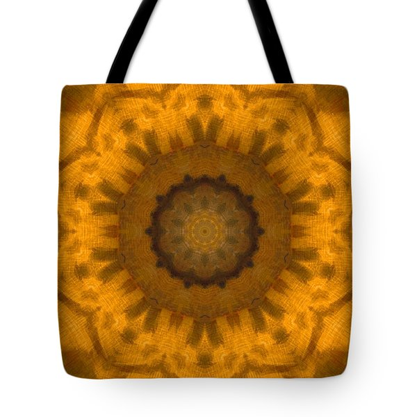 Golden Flower Tote Bag by Dan Sproul