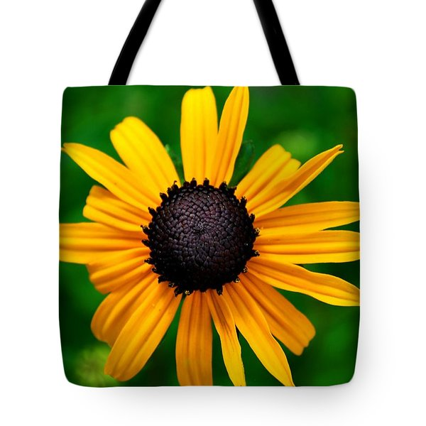 Tote Bag featuring the photograph Golden Flower by Matt Harang