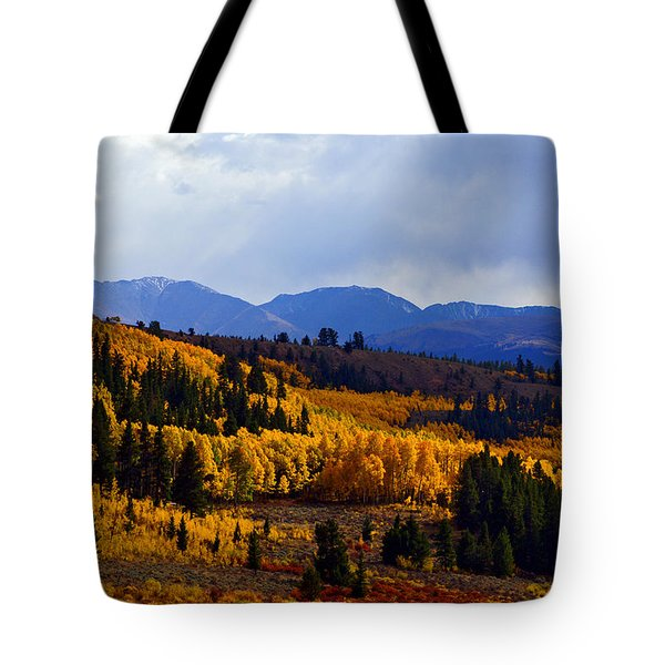 Golden Fourteeners Tote Bag