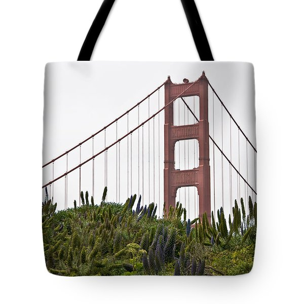 Tote Bag featuring the photograph Golden Gate Bridge 1 by Shane Kelly