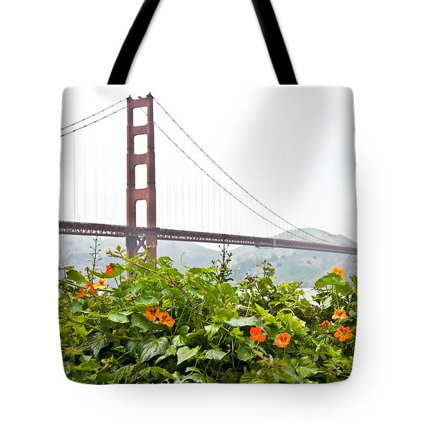 Tote Bag featuring the photograph Golden Gate Bridge 2 by Shane Kelly