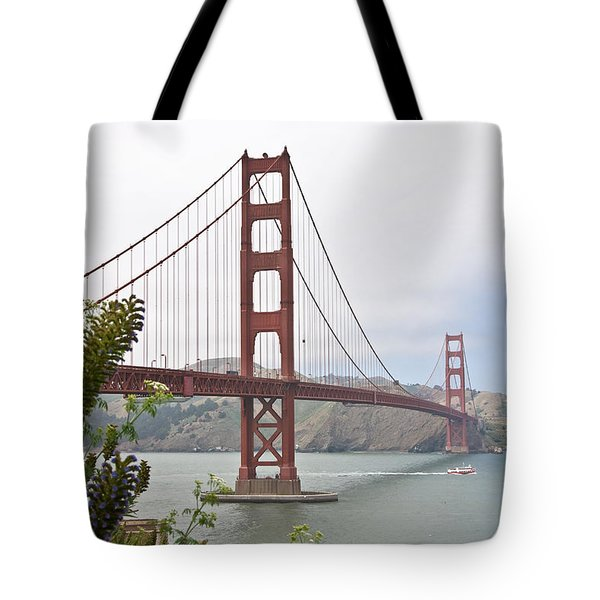 Tote Bag featuring the photograph Golden Gate Bridge 3 by Shane Kelly