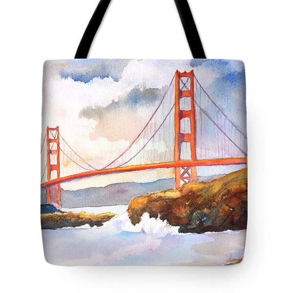 Golden Gate Bridge 4 Tote Bag