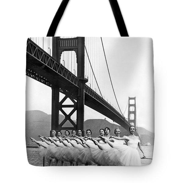 Golden Gate Bridge Ballet Tote Bag