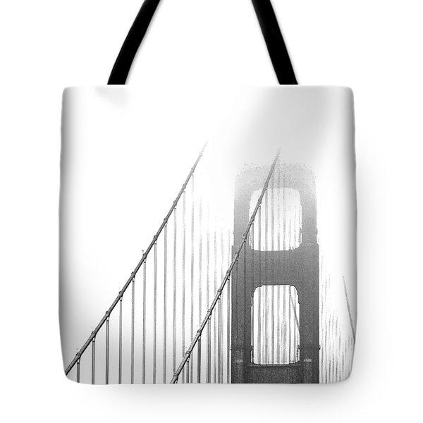 Golden Gate Bridge Tote Bag by Ben and Raisa Gertsberg