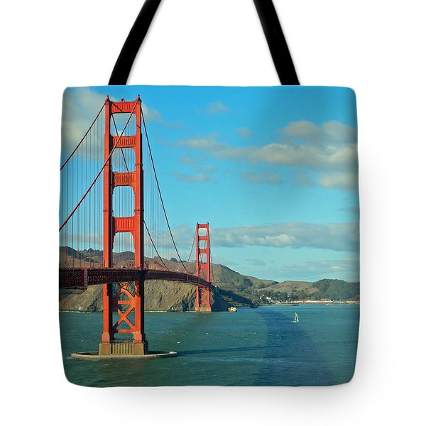 Golden Gate Bridge Tote Bag by Emmy Marie Vickers