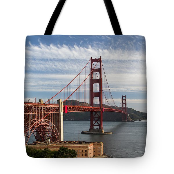 Golden Gate Bridge Morning Light Tote Bag