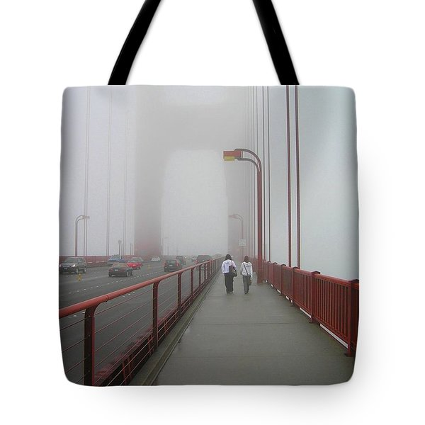 G. G. Bridge Walking Tote Bag