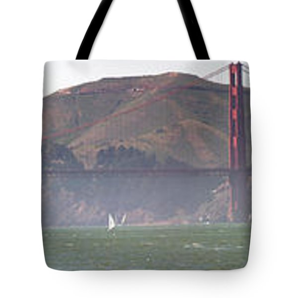 Golden Gate Bridge Panorama Tote Bag
