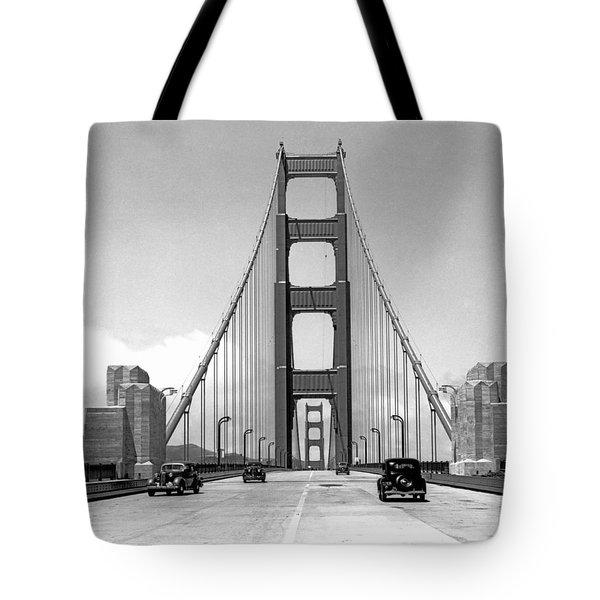 Golden Gate Bridge Preview Tote Bag