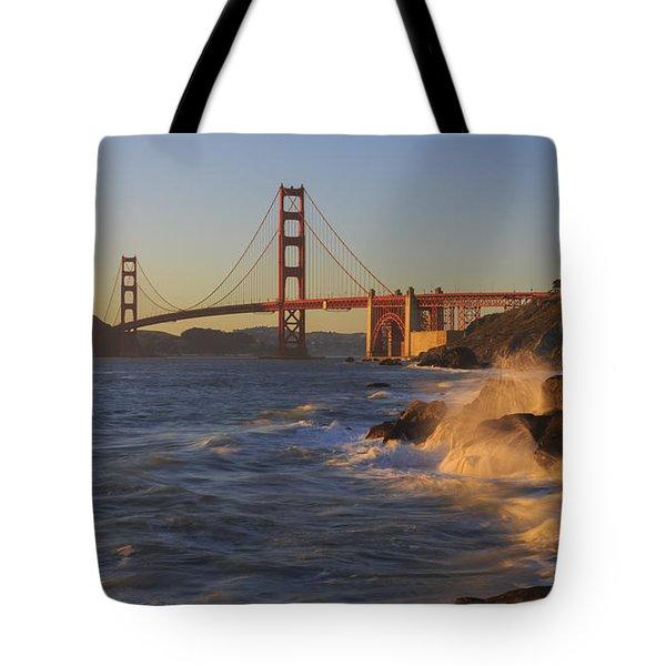 Golden Gate Bridge Sunset Study 3 Tote Bag