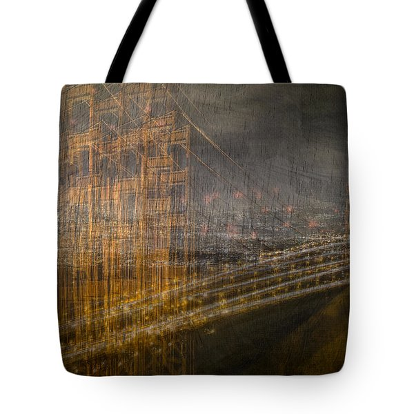 Golden Gate Chaos Tote Bag