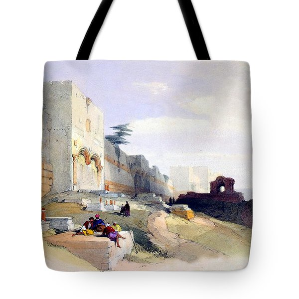 Golden Gate Of The Temple Tote Bag