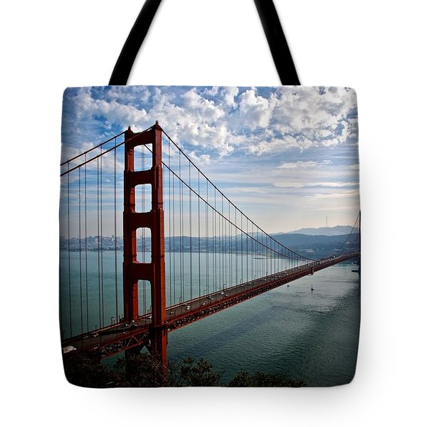 Golden Gate Open Tote Bag