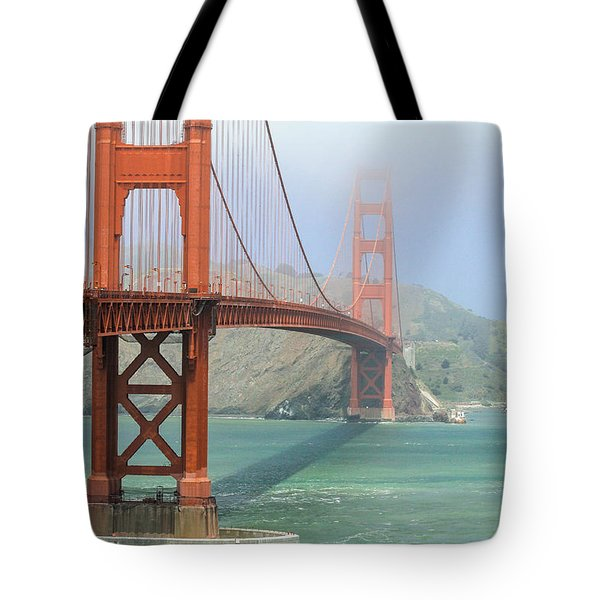 Tote Bag featuring the photograph Golden Gate by Steven Bateson