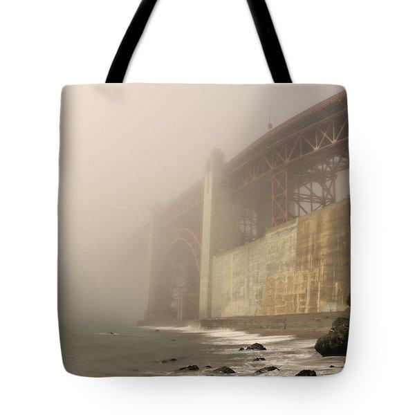 Golden Gate Superfog Tote Bag