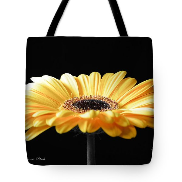 Golden Gerbera Daisy No 2 Tote Bag