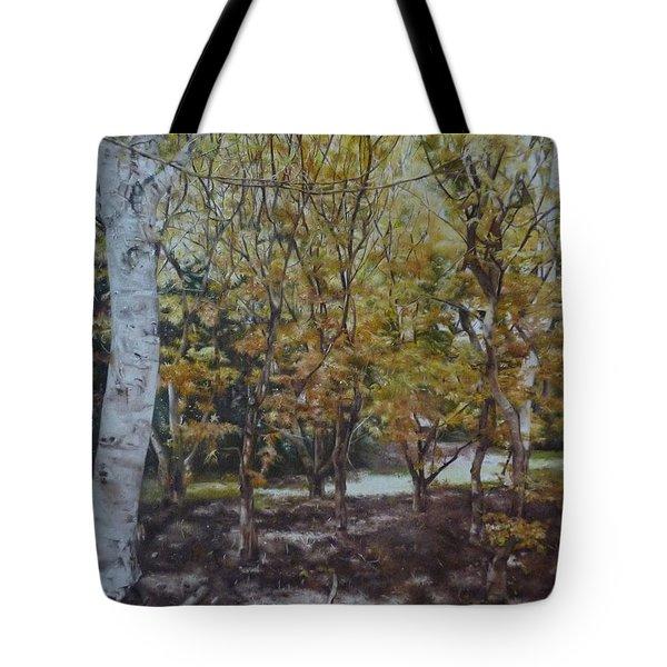 Golden Glade Tote Bag