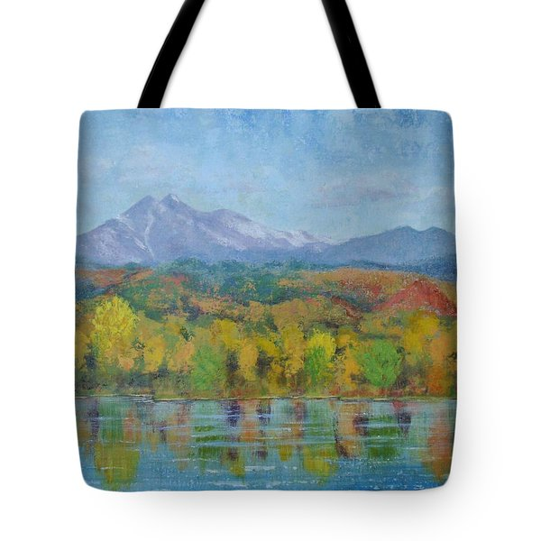 Golden Glory At Golden Ponds Tote Bag