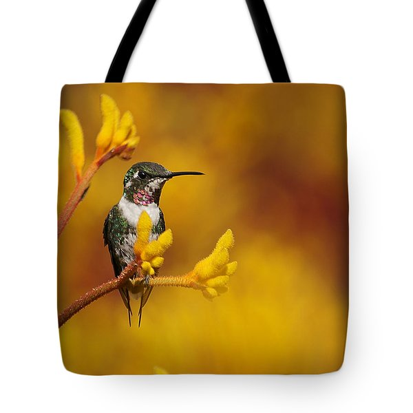 Golden Glow Tote Bag by Blair Wainman
